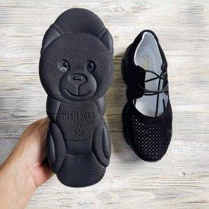 Замшевые кроссовки TED DREAM черный