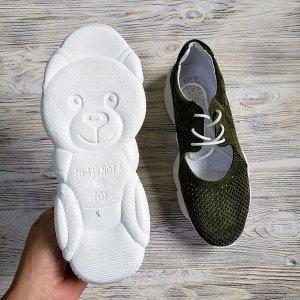 Замшевые кроссовки TED DREAM хаки