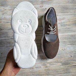 Замшевые кроссовки TED DREAM шоре (беж) замша