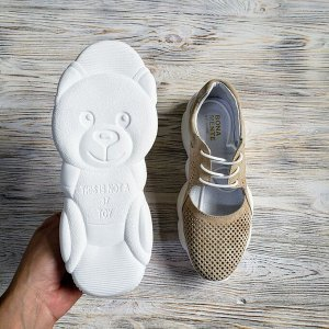 Замшевые кроссовки TED DREAM светлый беж