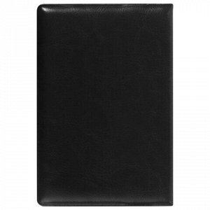 """Обложка для паспорта STAFF, полиуретан под кожу, """"ПАСПОРТ"""", черная, 237599"""