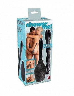 Анальный душ со сменными насадками Shower Me
