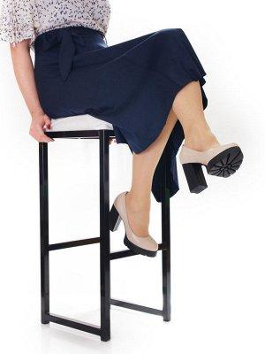 Туфли Страна производитель: Китай Полнота обуви: Тип «F» или «Fx» Тип носка: Закрытый Форма мыска/носка: Закругленный Каблук/Подошва: Каблук Высота каблука (см): 10 Высота платформы: 2.5 см Материал в