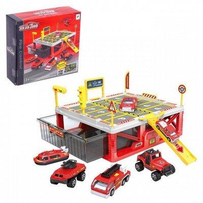 Сима - Игрушки для мальчиков — Гаражи, парковки — Игрушки и игры