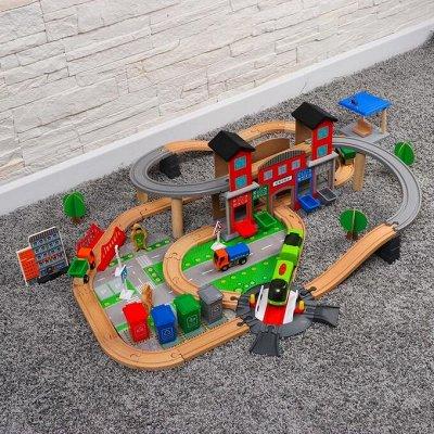 Море игрушек для детей🦊 Бизиборды, игровые наборы, роботы👾   — Железные дороги — Игрушки и игры