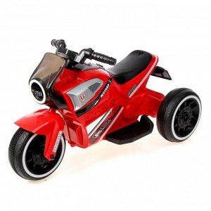Электромотоцикл «Техно», цвет красный