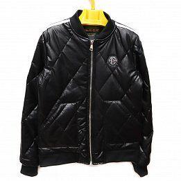 Куртка кожаная дет. HABO scs-21-2 р-р 128-158 6 шт, цвет черный
