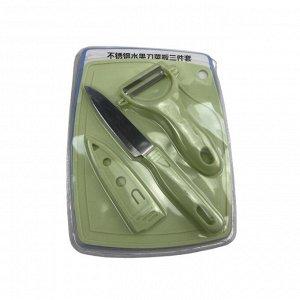 Доска разделочная с ножом(+чехол), овощечисткой. XXSH-370
