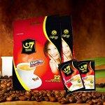 Растворимый кофе 4в1 (кофе, сливки, заменитель сахара, коллаген) 1 упаковка / 22 стика по 16 гр (1/24)