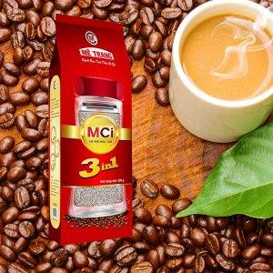 Растворимый кофе фирмы «ME TRANG» «MCI» 3в1 Состав: кофе, сахар, сливки. Внутри пакета порционная ложка. Вес: 500 грамм. Не в пакетиках! Насыпать ложкой.