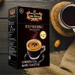 Растворимый черный кофе из зерен Арабики  15 пакетов*2,5гр