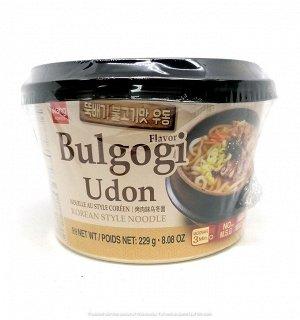 """Удон со вкусом пулькоги """"Bulgogi udong"""" 229г"""