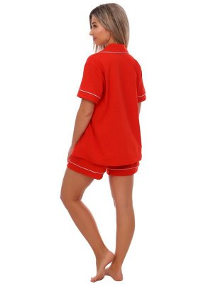 Пижама женская RED (шорты)