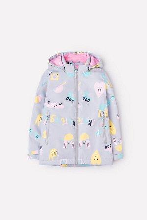 Куртка(Весна-Лето)+girls (светло-серый, парк развлечений)