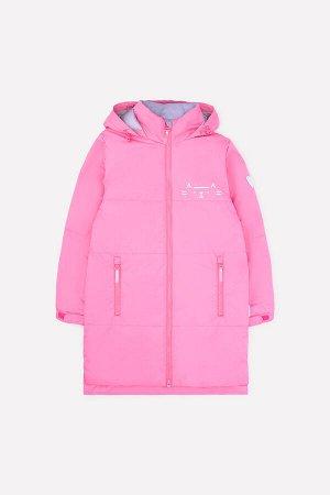 Пальто Цвет: розовый; Утеплитель: с утеплителем; Вид изделия: Изделия из мембраны; Рисунок: розовый; Сезон: Весна-Лето Демисезонное стёганое пальто для девочки с утеплителем Fellex® 120г/м2. Рекоменд