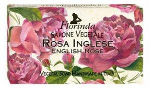 FLORINDIA Мыло 1591 Rosa Inglese 100 г. NEW
