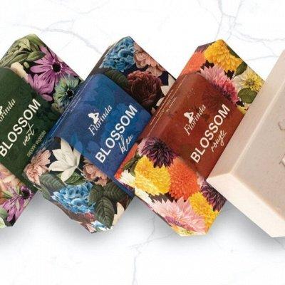 FLORINDA мыло из Италии 100% растительные масла — BLOSSOM (цветущий сад) — Гели и мыло