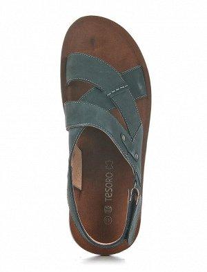 Туфли открытые TESORO, Темно-синий