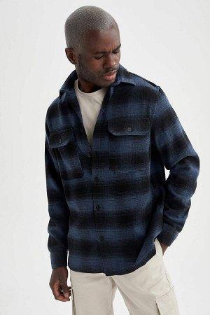 Рубашка Размеры модели: рост: 1,88 грудь: 95 талия: 70 Надет размер: M Akrilik 85%,Di?er Elyaf 2%,полиэстер 13%