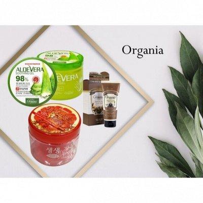Korea - Shop - самые популярные продукты по оптовым ценам — Organia уход за телом — Гели и мыло