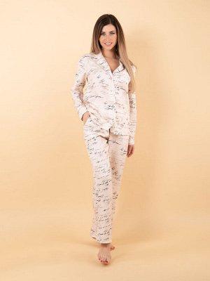 Домашний костюм женский ( пижама) 50 р-р