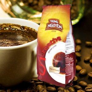 Молотый кофе  фирмы «TrungNguyen» «CREATIVE №5» со вкусом шоколада  Состав: Арабика  Вес: 250 грамм.