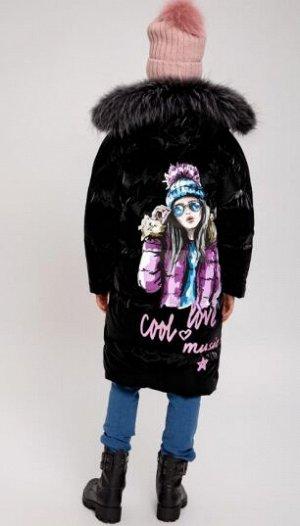 Пальто для юной девушки