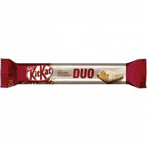 Батончик KitKat Senses Deluxe Coconut Duo 58 г