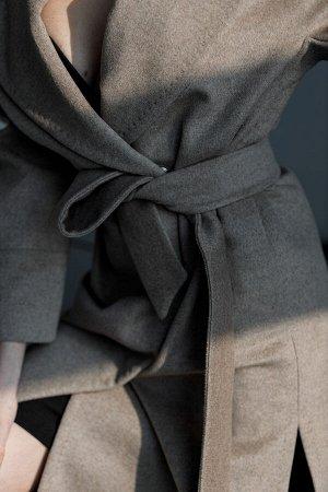 """Пальто с английским воротником """"beige"""""""