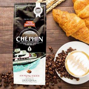 Молотый кофе  фирмы «TrungNguyen» «СHEPHIN №1» со вкусом шоколада  Состав: Робуста Вес: 500 грамм.