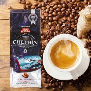Молотый кофе  фирмы «TrungNguyen»  «СHE PHIN №3»со вкусом шоколада   Состав: Арабика Вес: 500 грамм.