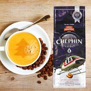 Молотый кофе  фирмы «TrungNguyen» «СHE PHIN №4» со вкусом шоколада   Состав: Арабика, Робуста Вес: 500 грамм.