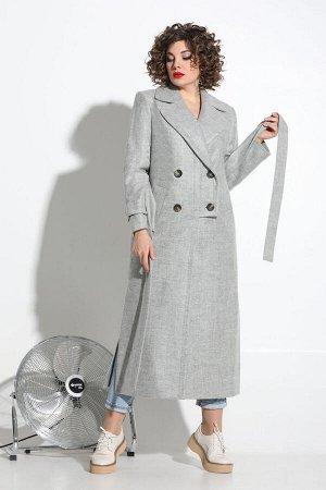 Пальто Пальто Avanti Erika 1085-1 серый  Состав: Пальто: Спандекс-20%; Шерсть-80%; Подкладка: Вискоза-97%; Эластан-3%; Сезон: Весна Рост: 164  Демисезонное драповое пальто прямого кроя. Изделие на по