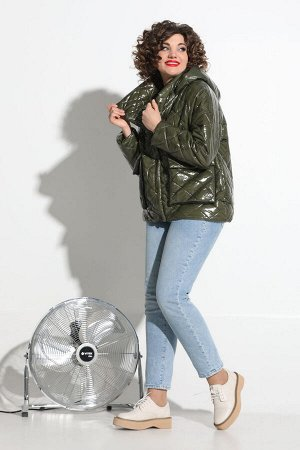 Куртка Куртка Avanti Erika 1117-2 хаки  Состав: Куртка: ПЭ-100%; Подкладка: Вискоза-97%; Эластан-3%; Сезон: Весна Рост: 164  Стёганная куртка оверсайз, на утеплителе, сезонность - еврозима, покрытие