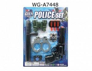 Игровой набор Junfa Полиция 10 предметов, на блистере193