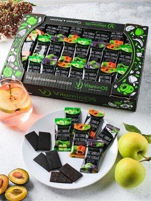 Натуральная фруктовая пастила Vitaminos ассорти 700гр