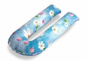 Наволочка К Подушке Для Беременных U Цветы (70х140 (1 шт))