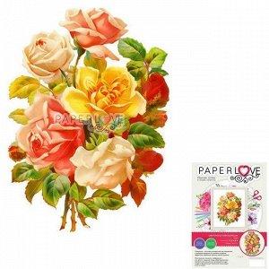 Набор ДТ Папертоль Цветочная композиция 16 х 20 см F0201