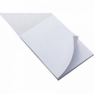 Блокнот А5 (146х205 мм) 50 л., склейка, ламинированная бумага, в точку, HATBER Premium, CATs, 50Б5лA9к