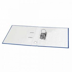 """Папка-регистратор STAFF """"Manager"""" с покрытием из ПВХ, 70 мм, без уголка, синяя, 225207"""