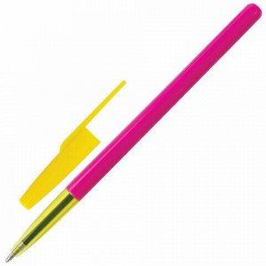 """Ручки шариковые BRAUBERG, НАБОР 3 шт., СИНИЕ, """"Color"""", корпус ассорти, узел 1 мм, линия письма 0,5 мм, 141508"""