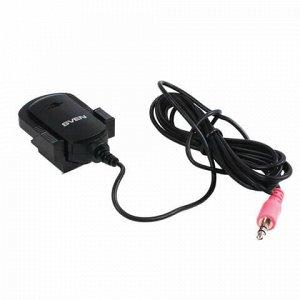 Микрофон-клипса SVEN MK-150, кабель 1,8 м, 58 дБ, пластик, черный, SV-0430150