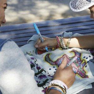 "Маркеры перманентные НАБОР 4 ЦВЕТА SHARPIE ""Fine Pastel"", круглый наконечник, 1 мм, 2065402"
