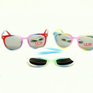 Солнцезащитные  детские очки, 240-10, Х-030, в ассортименте, арт.193.313