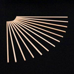 Палочки деревянные для леденцов 15 см, 50 шт