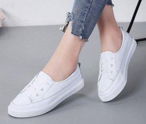 Кроссовки женские, цвет белый