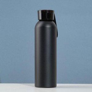 Бутылка для воды 500 мл, аллюминий, 8.3х24 см