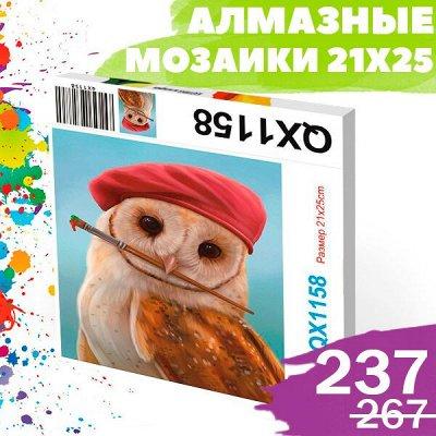 Соц. закупка💯 Время экономить! Лучшие товары — Шок-цена 213р😜 Алмазные мозаики 21x25