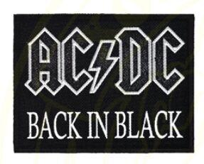 """Нашивки печать AC/DC """"Black Ice"""""""