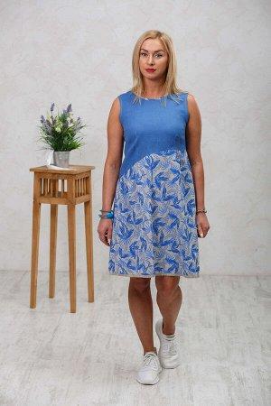Платье Голубой